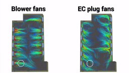 Evaluating EC Plug Fans vs. Radial Blowers in the Data Center